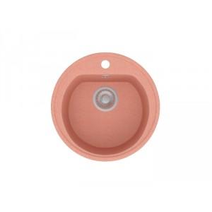 Каменная мойка POLYGRAN F-05 №30, розовый