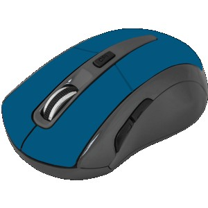 Мышь Defender Accura MM-965, голубой