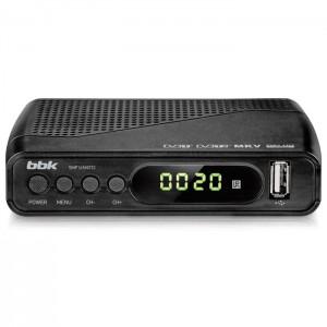 Цифровой ресивер BBK SMP145HDT2, темно-серый