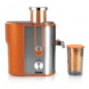 Соковыжималка BBK JC060-H02, оранжевый/серебро