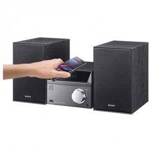 Минисистема Sony CMT-SBT40D, черный