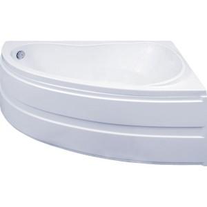 Ванна BAS Алегра белая 150x90 без гидромассажа, без сифона, без  панели, с каркасом,правая