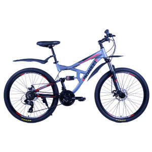 Велосипед Pioneer Safari T 17'' grey/black/red