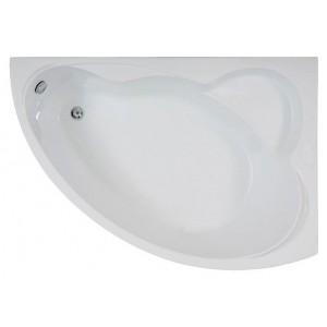 Ванна BAS Лагуна белая 170x110 без гидромассажа, без сифона, без панели, с каркасом правая