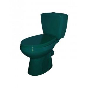 Крышка бачка Оскольская керамика Элисса, зеленый