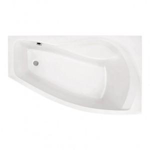Ванна Santek Майорка XL белая 160х95 WH111990+WH112429+WH112208, правая с сифоном