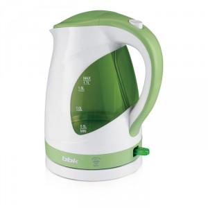 Чайник BBK EK1700P, белый/зеленый