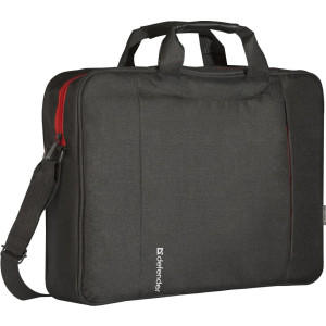 "Сумка для ноутбука 15,6"" Geek черный, карман DEFENDER"