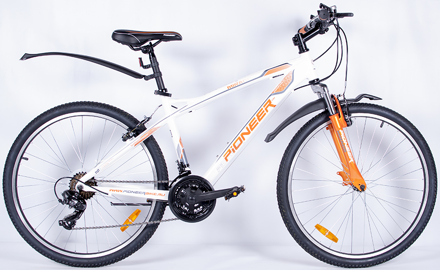 Велосипед Pioneer Mirage 17'' white/orange/grey